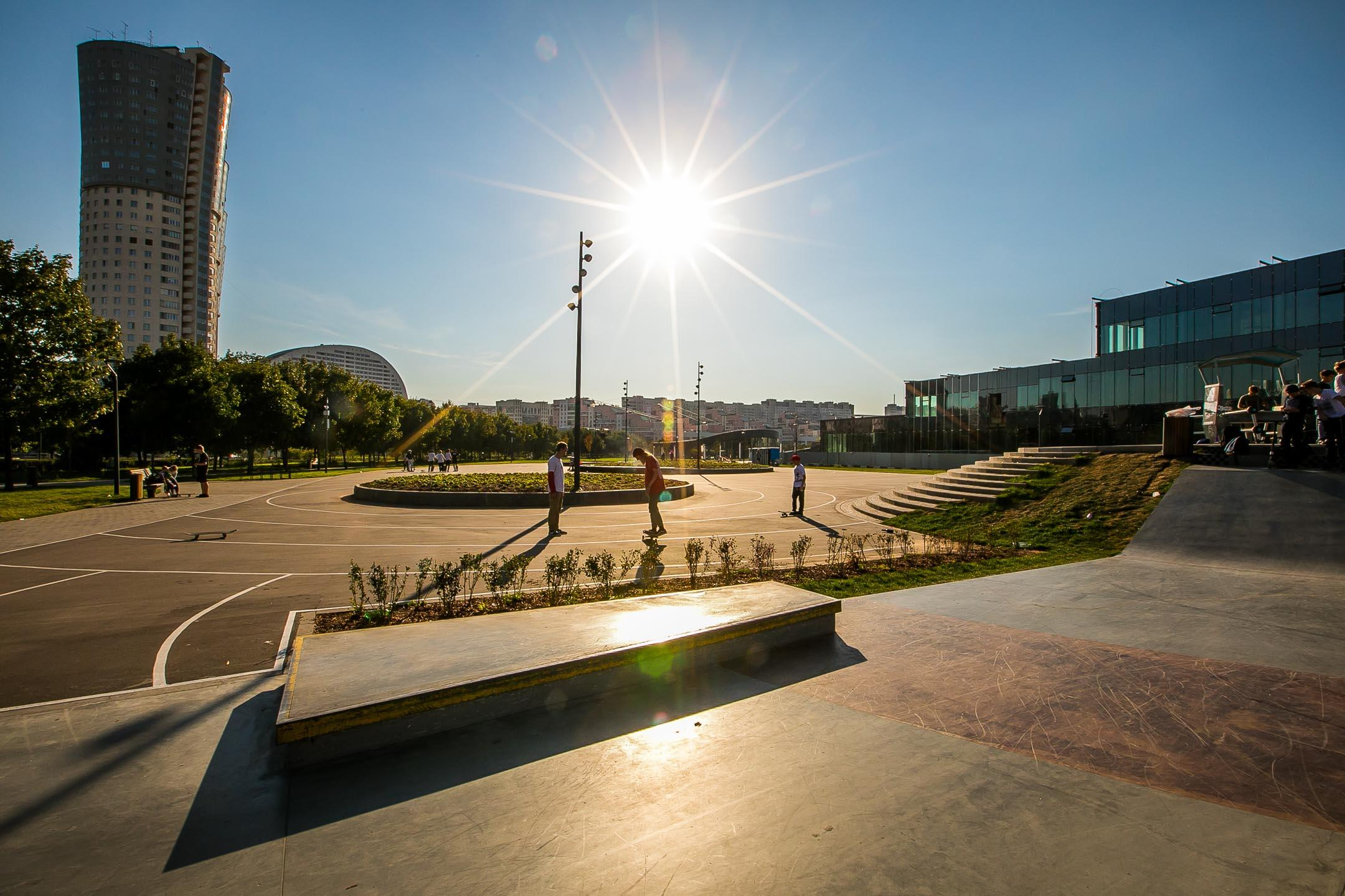 Скейт-парк на Ходынском поле