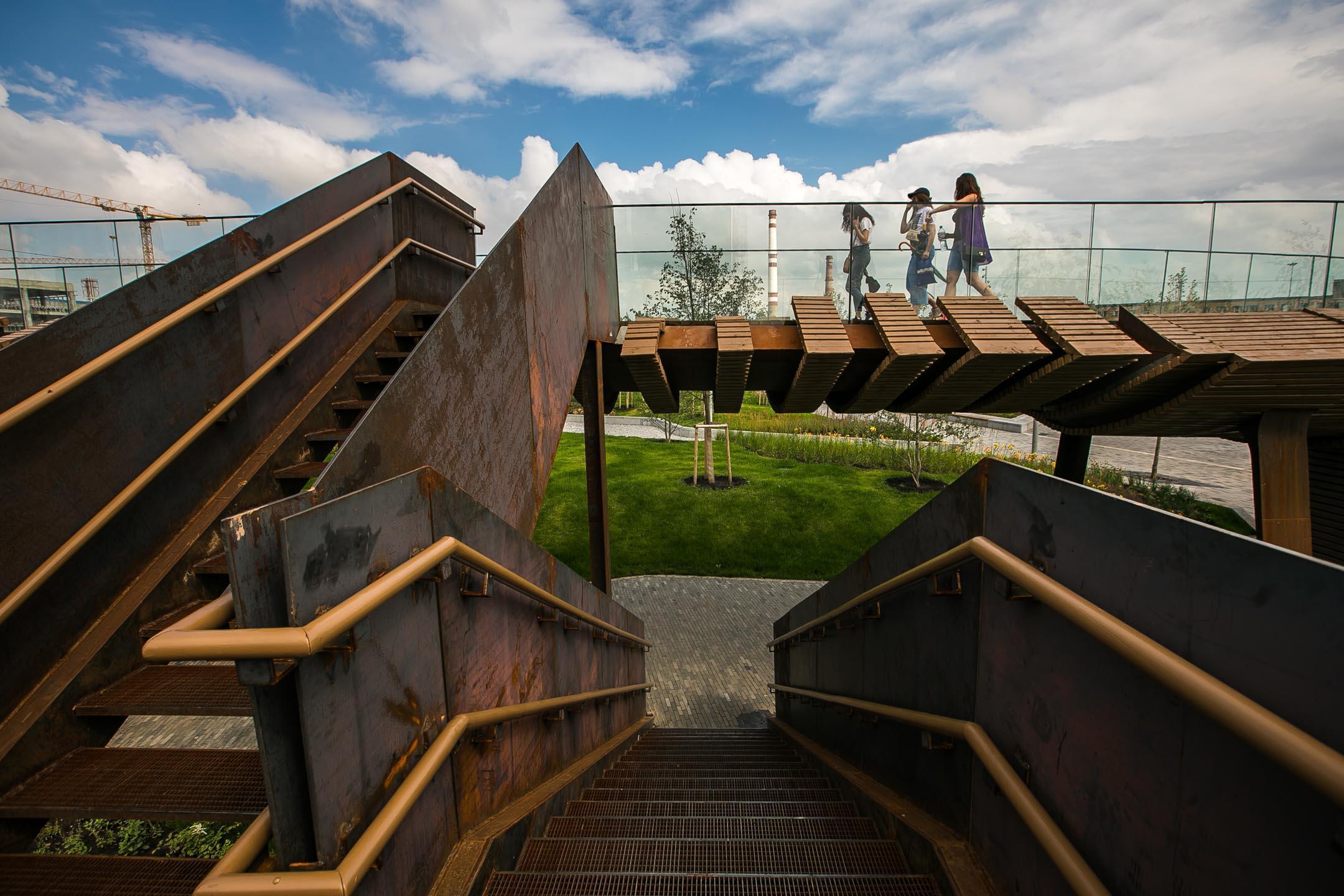 мост в Тюфелевой роще