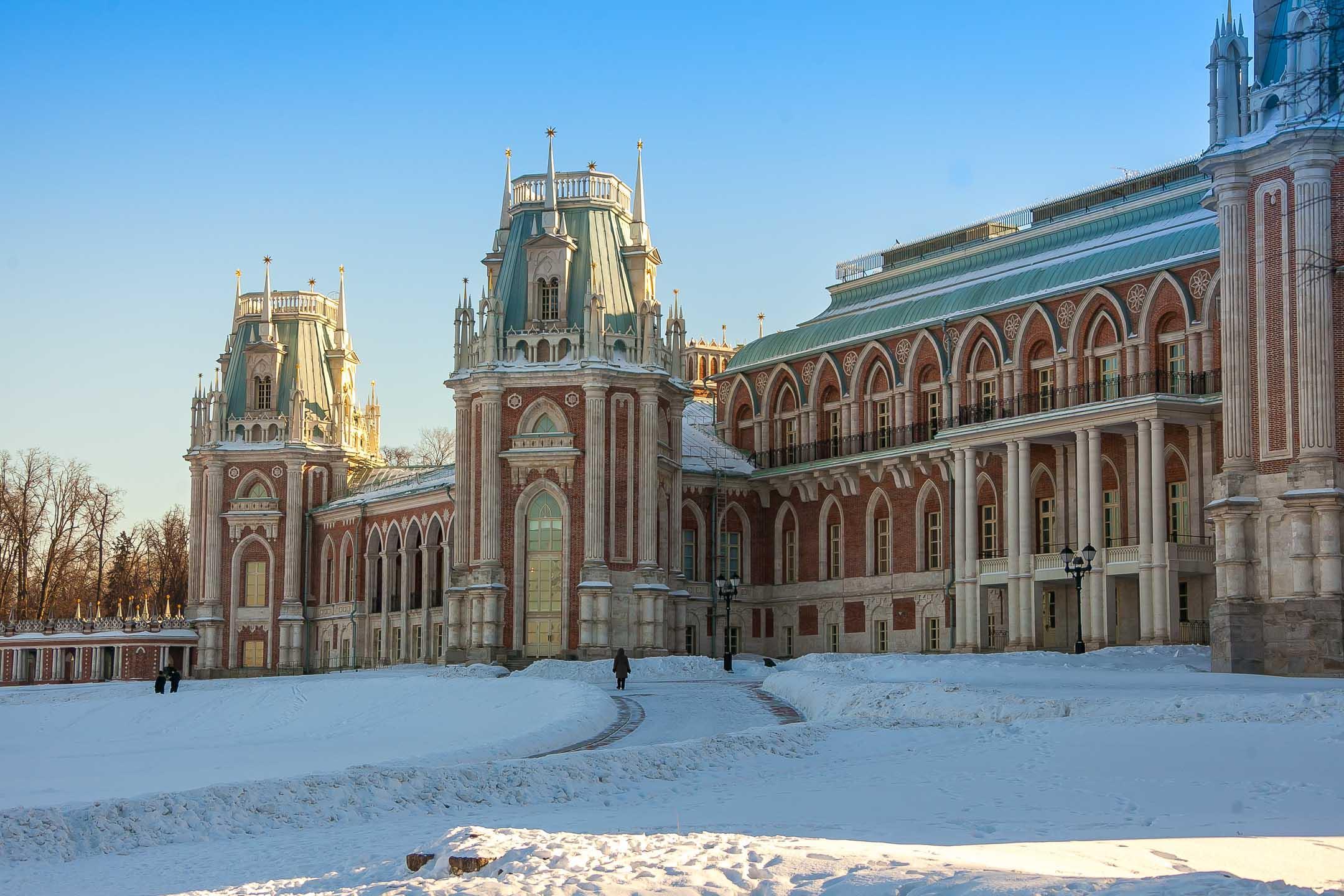 Большой дворец в Царицыне