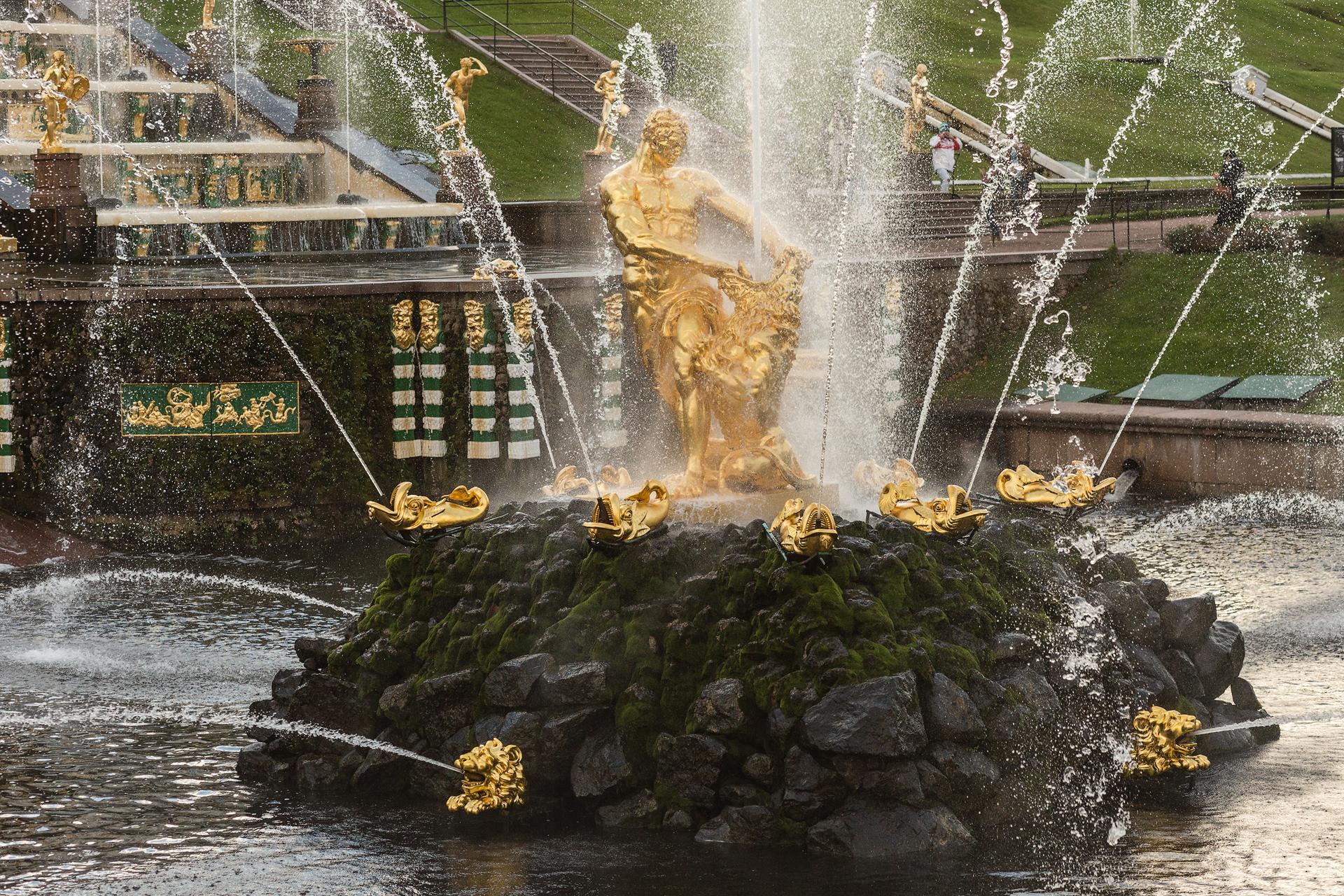 Городские сады в Петербурге