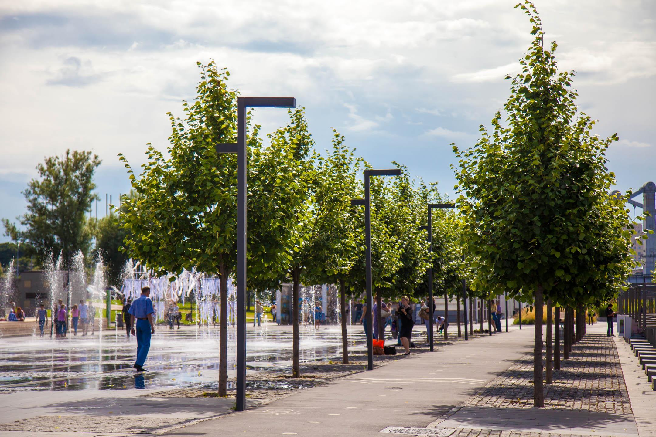 Где найти небольшие парки в Москве