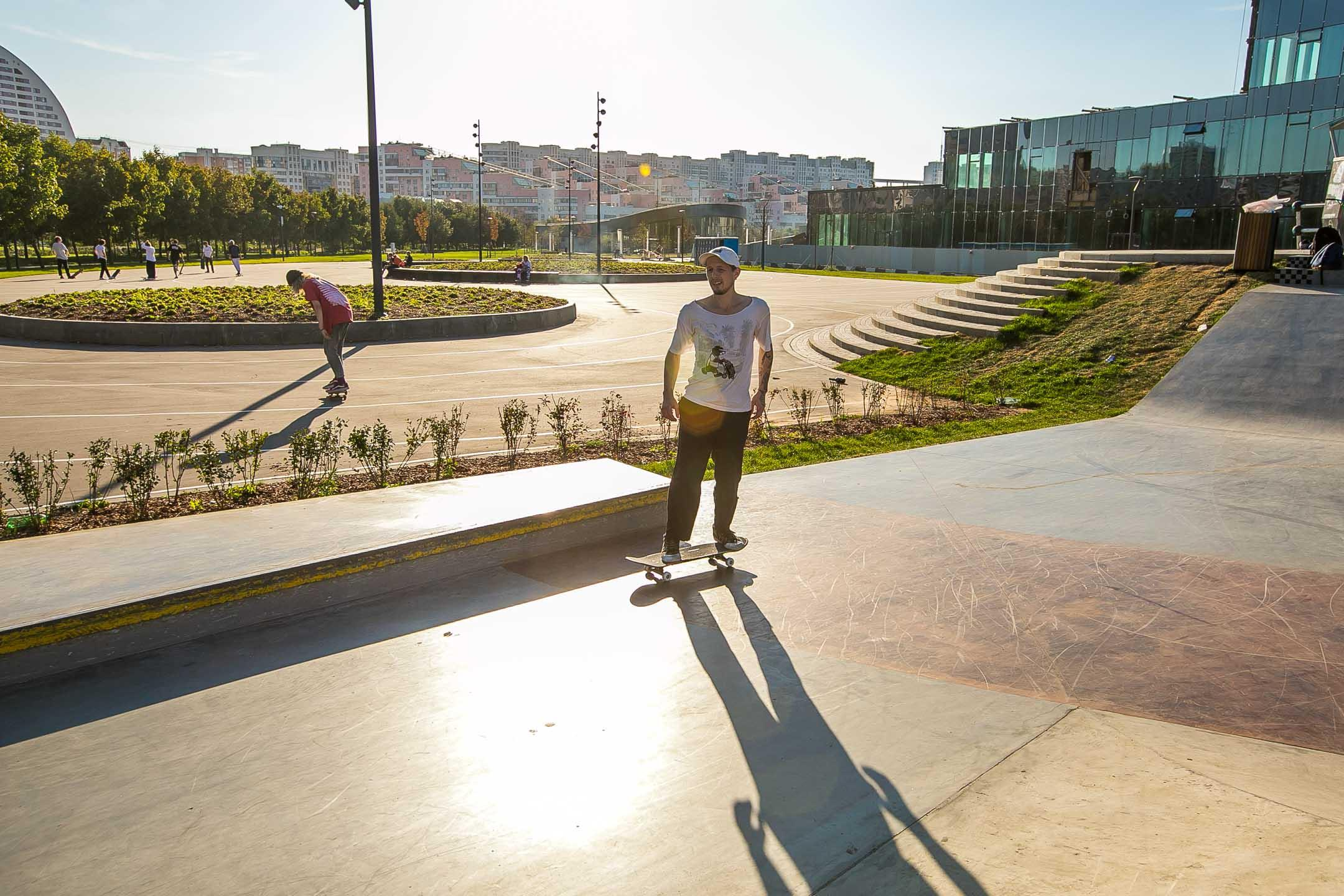 Скейт-парк на Ходынке