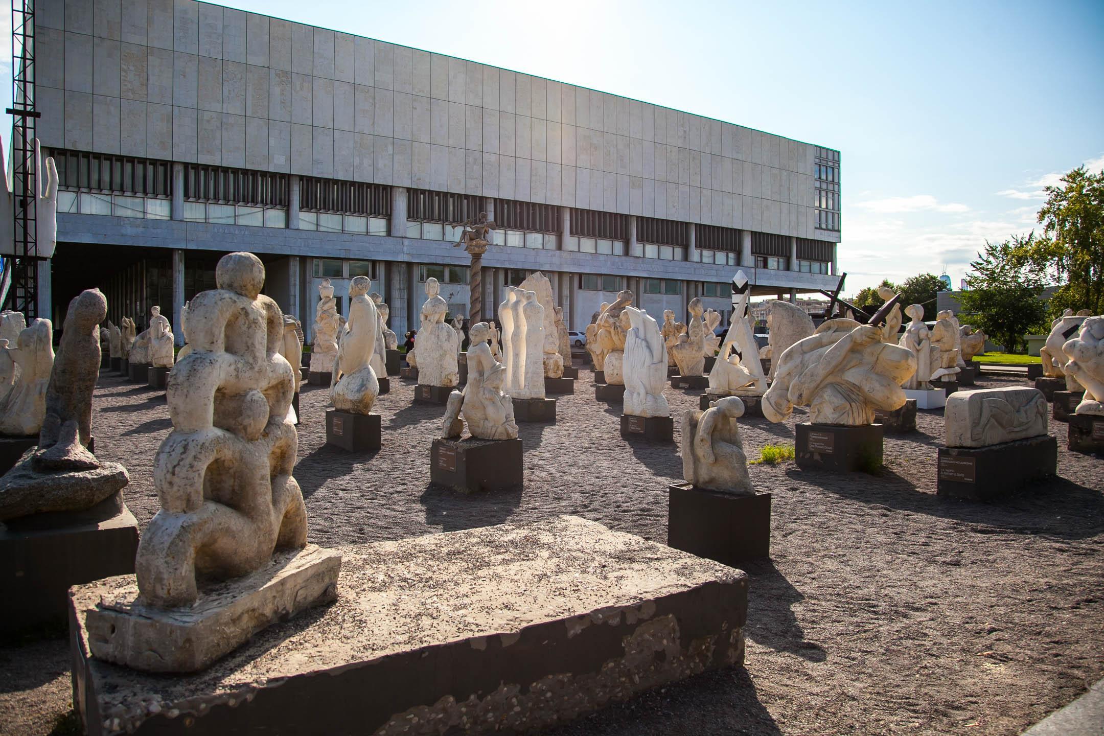 Скульптуры в «Музеоне»