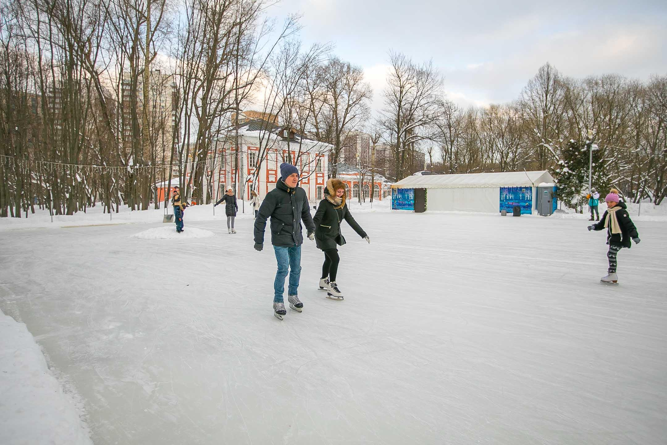 Зима в Воронцовском парке