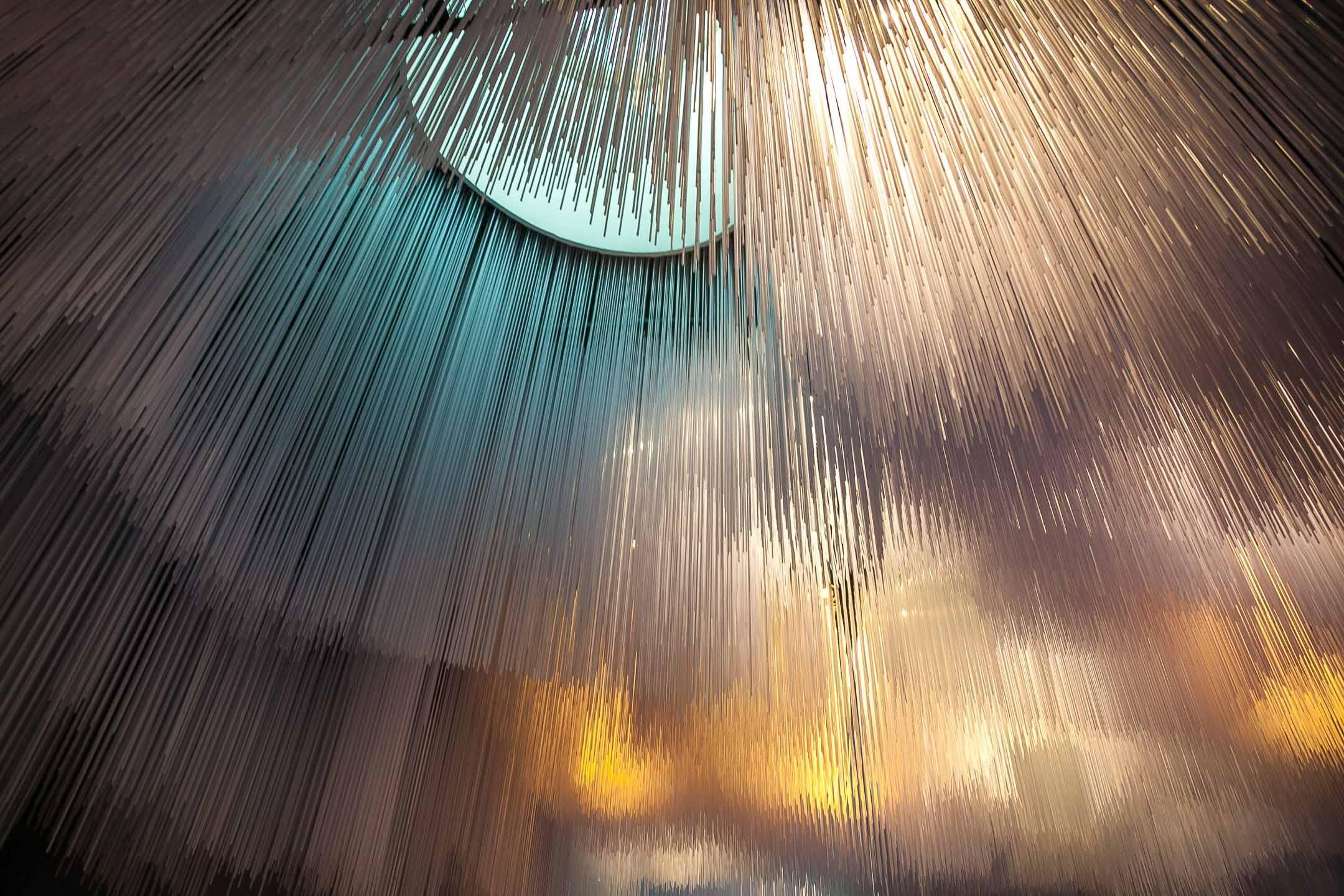 Инсталляция в Медиацентре «Зарядья»