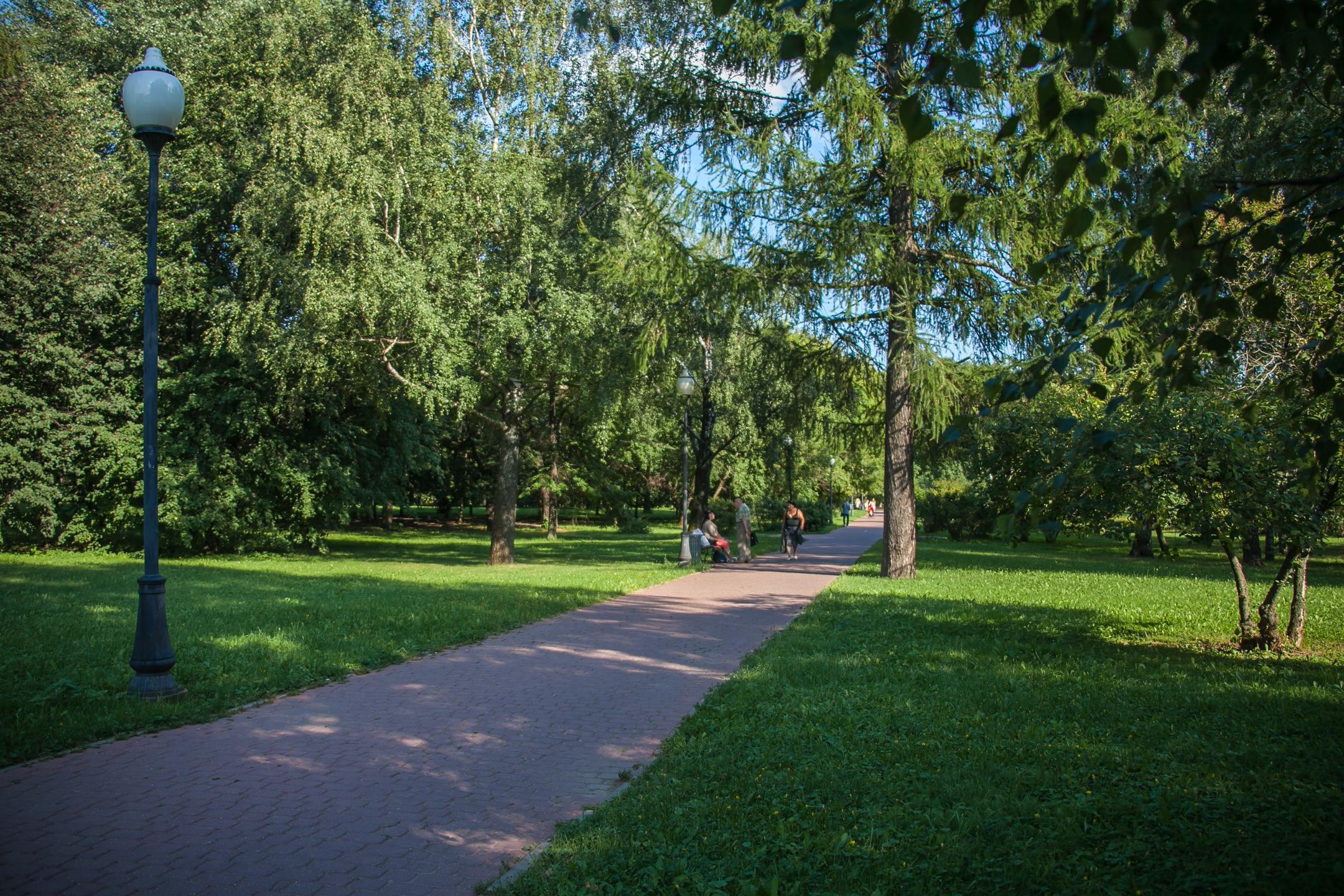 Зона отдыха в Саду будущего