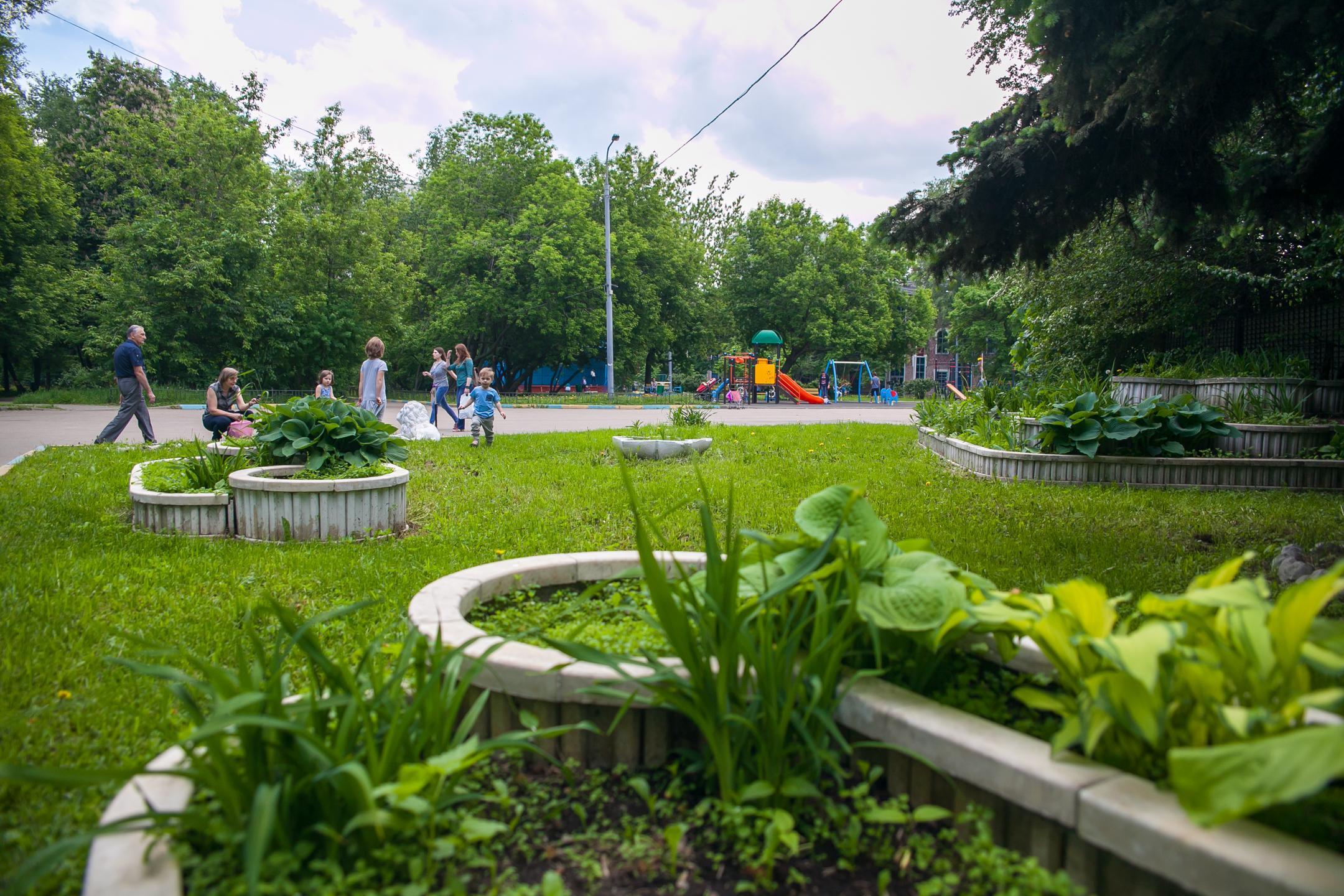 Детская площадка в Фестивальном парке