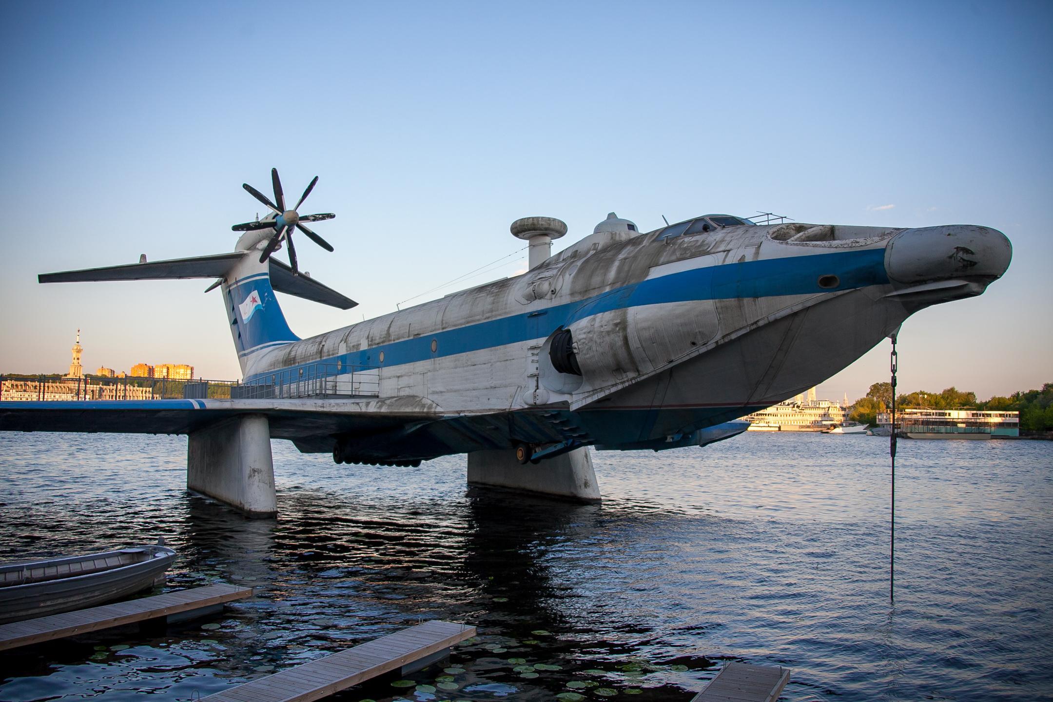 Музей ВМФ в Тушинском парке