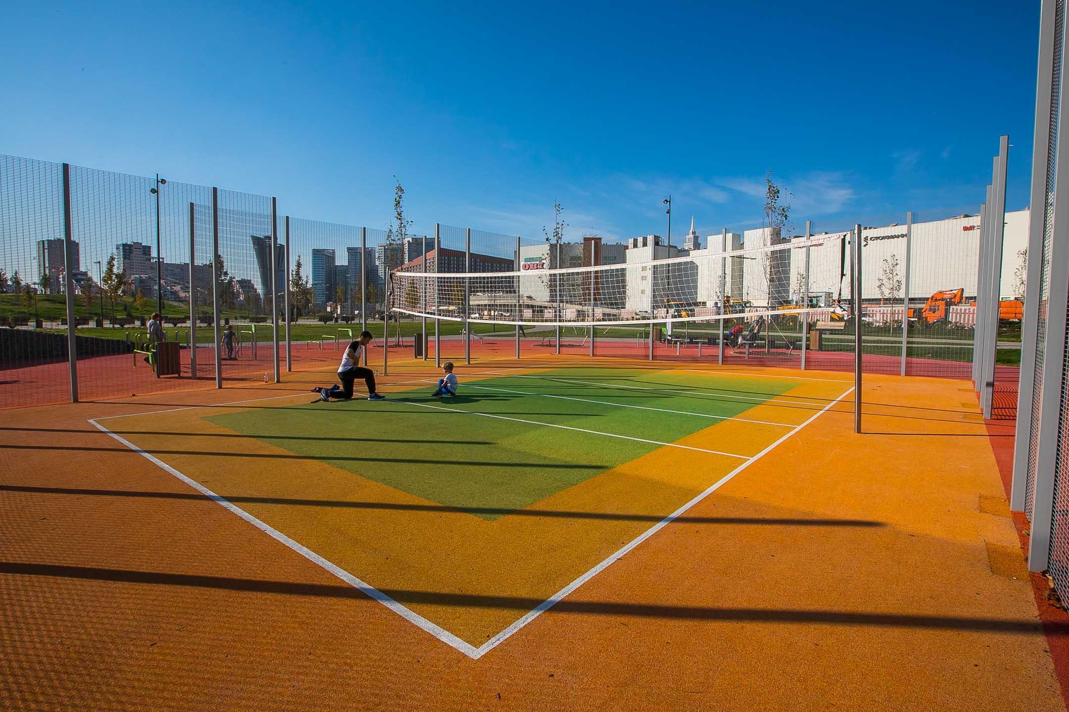 Спортивные зоны на Ходынке