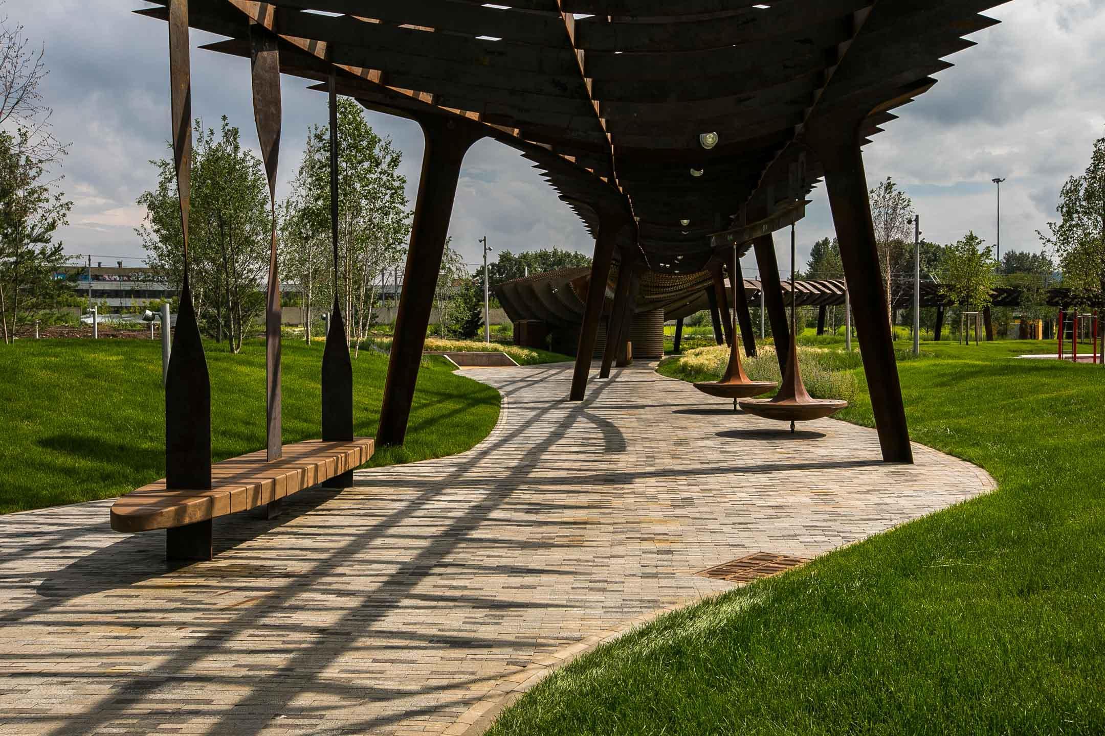 Парк «Тюфелева роща»