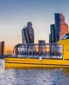 «Цветочные» речные трамвайчики запустили по Москве-реке