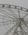 В парке Гагарина появилось колесо обозрения