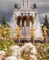 На ВДНХ завершили реконструкцию фонтана «Дружба народов»