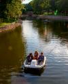 Лодки и катамараны можно арендовать в парках Москвы