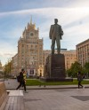 На Триумфальной площади отметят День города