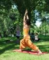 В Таврическом саду стартовал сезон йоги