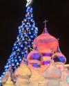 В парке Победы на Поклонной горе появятся ледовые копии Кремля и храма Христа Спасителя