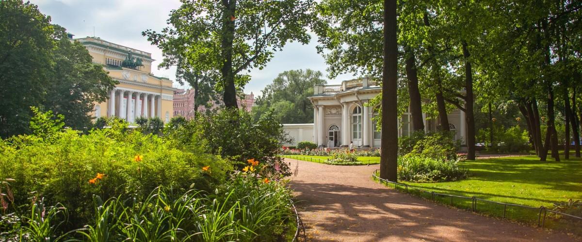 сад аничкова дворца фото этого проекта