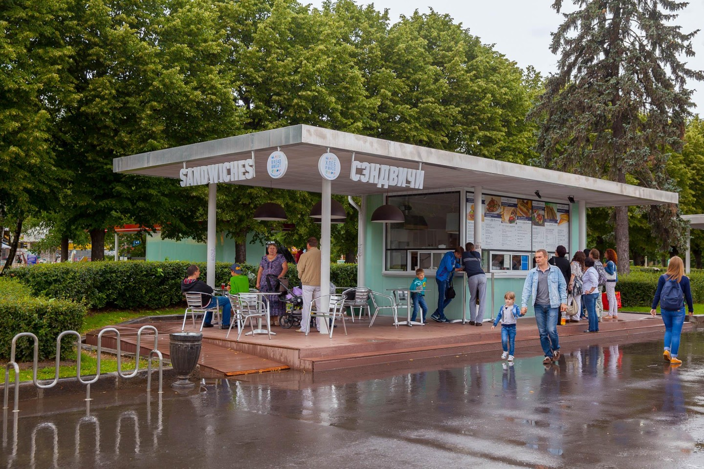 "Кафе ""Хлеб и мясо"", ВДНХ, Москва — ParkSeason"