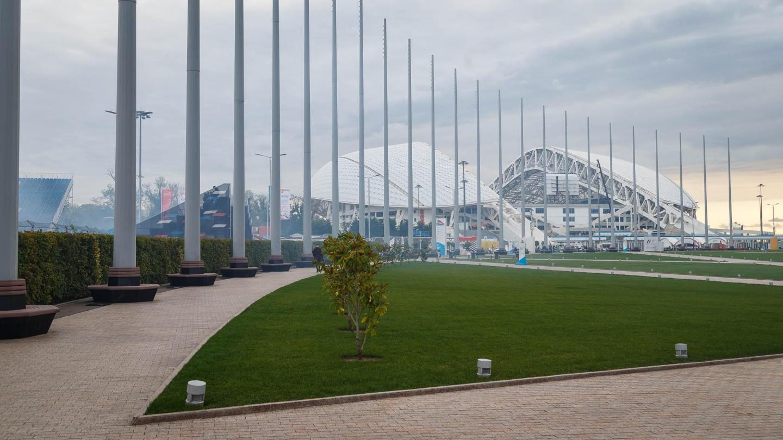 Флагштоки на Олимпийской площади — ParkSeason
