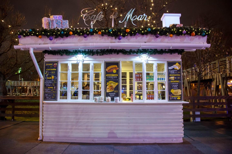 Cafe Del Mar Moscow (на катке) — ParkSeason