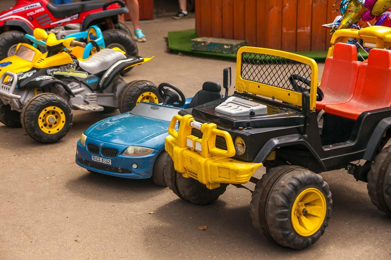 Прокат детских электромобилей — ParkSeason