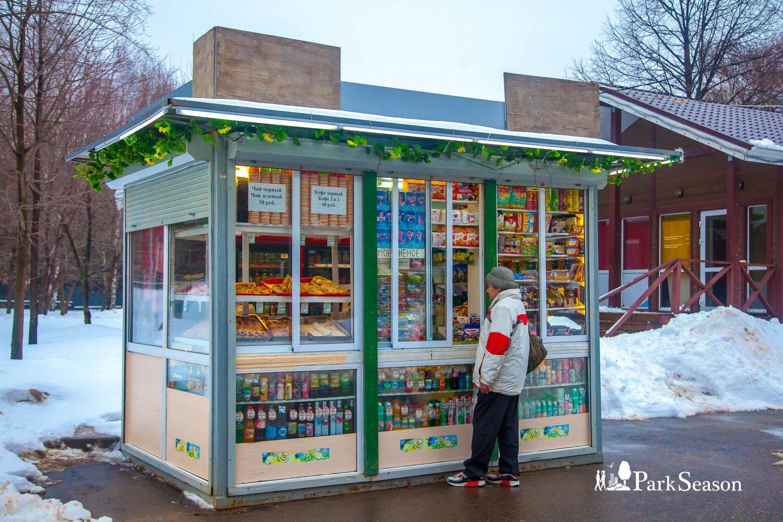 Киоск с уличной едой, Воробьевы горы, Москва — ParkSeason