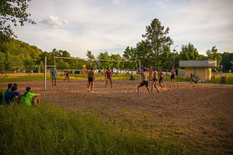 Площадка для пляжного волейбола (временно закрыт) — ParkSeason