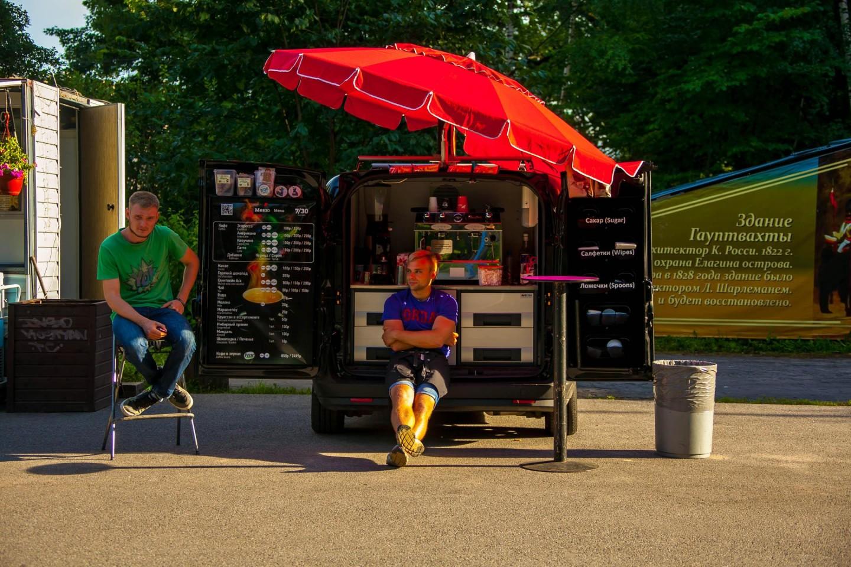 Мобильное кафе 7/30 — ParkSeason