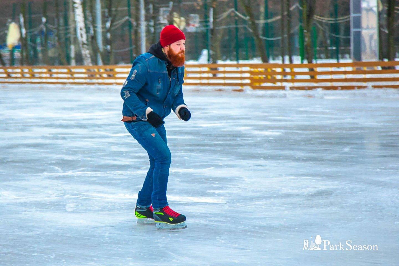 Каток «Серебряный лед» (парк «Измайловский») — ParkSeason