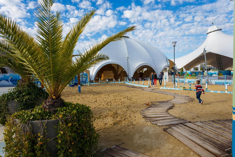 Выставка песчаных работ «Лукоморье» — ParkSeason