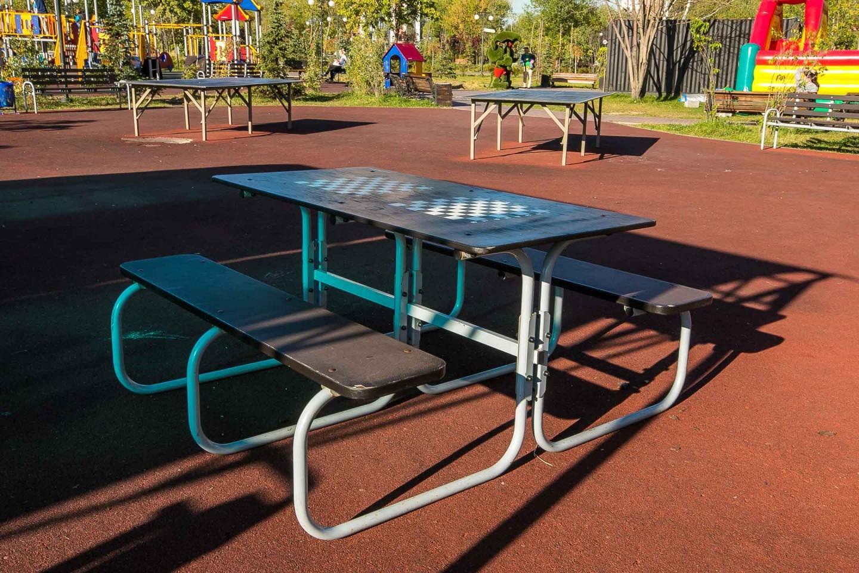 Шахматно-шашечные столы — ParkSeason