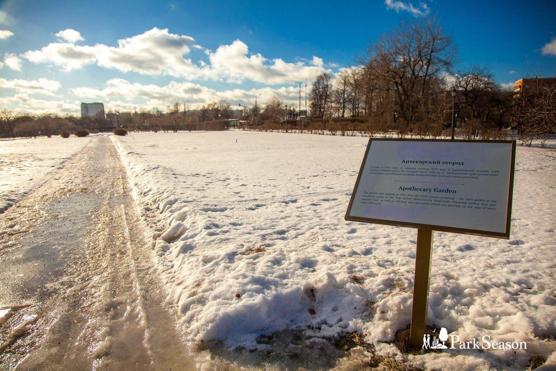 Аптекарский огород, Усадьба «Коломенское», Москва — ParkSeason