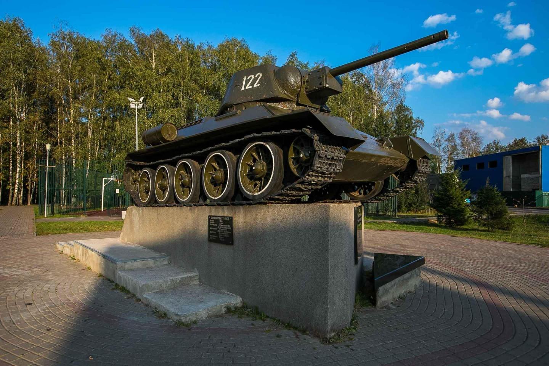 Средний танк Т-34-76 — ParkSeason
