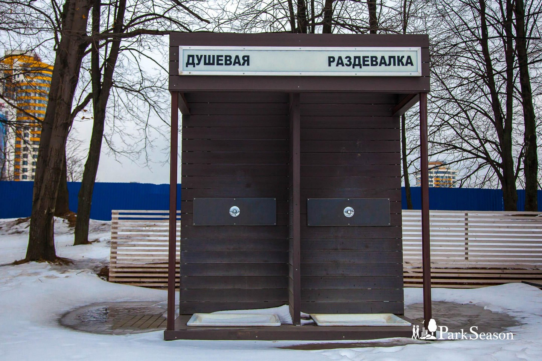 Раздевалка с душем, Парк имени Льва Толстого (Химки), Москва — ParkSeason