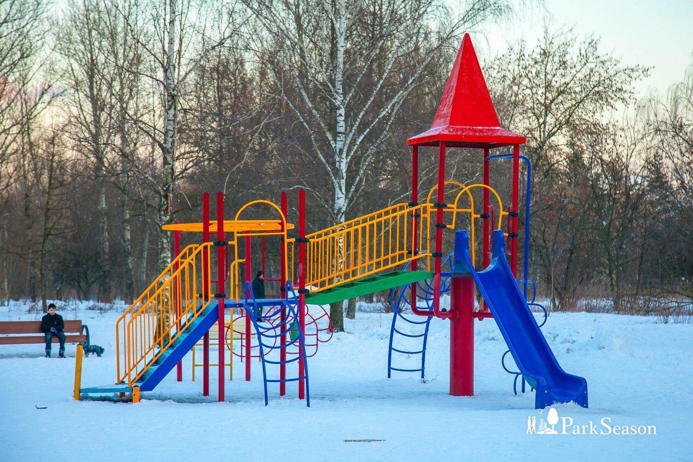 Детские площадки, Строгинский парк, Москва — ParkSeason