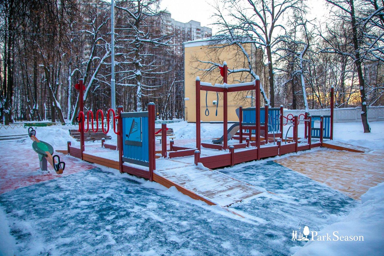 Детская площадка, Усадьба «Люблино», Москва — ParkSeason