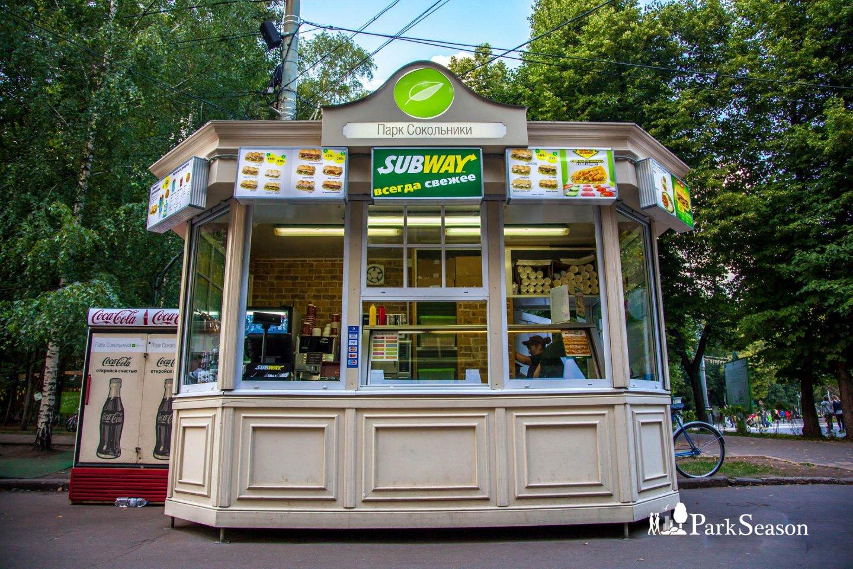 Киоск Subway, Парк «Сокольники», Москва — ParkSeason