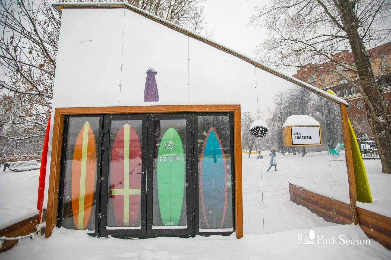Кофейня Surf coffee, «Музеон», Москва — ParkSeason