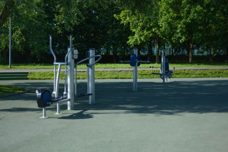 Уличные тренажеры, Парк «Садовники», Москва — ParkSeason