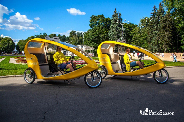 Велотакси, Парк «Сокольники», Москва — ParkSeason