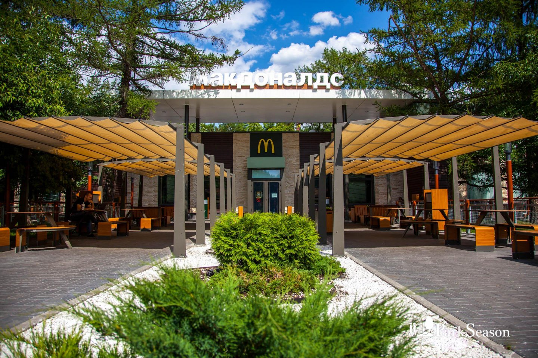 Ресторан быстрого питания «Макдоналдс», ВДНХ, Москва — ParkSeason
