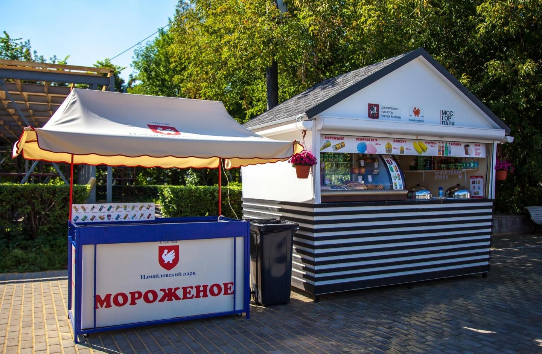 Киоск «Стардог!s», Парк «Измайловский», Москва — ParkSeason
