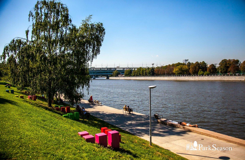 Воробьевская набережная, Воробьевы горы, Москва — ParkSeason