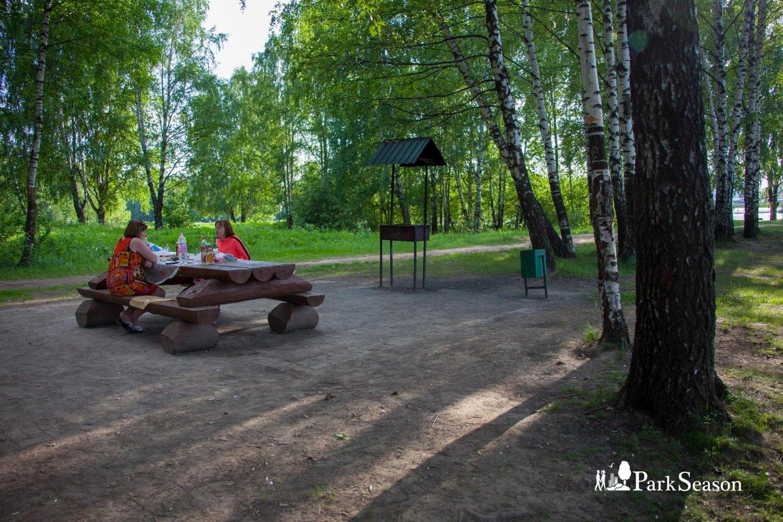 Зона для пикника, Строгинский парк, Москва — ParkSeason