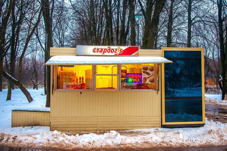 Киоск «Стардог!s», Парк «Северное Тушино», Москва — ParkSeason