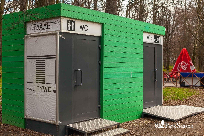 Туалет, Парк «Кузьминки», Москва — ParkSeason