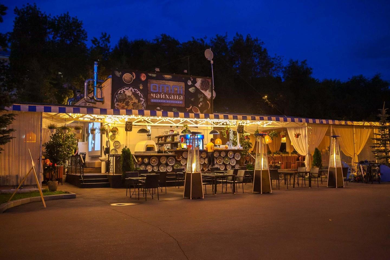 Кафе «Omni Чайхана» — ParkSeason