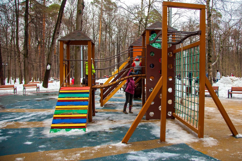 Детская площадка, Парк «Фили», Москва — ParkSeason