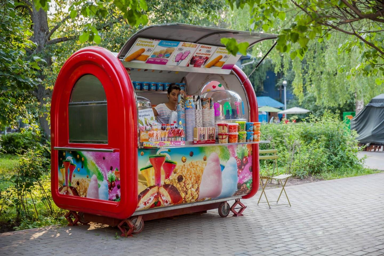 Фургон уличной еды, Парк «Северное Тушино», Москва — ParkSeason